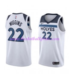 Minnesota Timberwolves Trikot Herren 2018-19 Andrew Wiggins 22# Association Edition Basketball Triko..